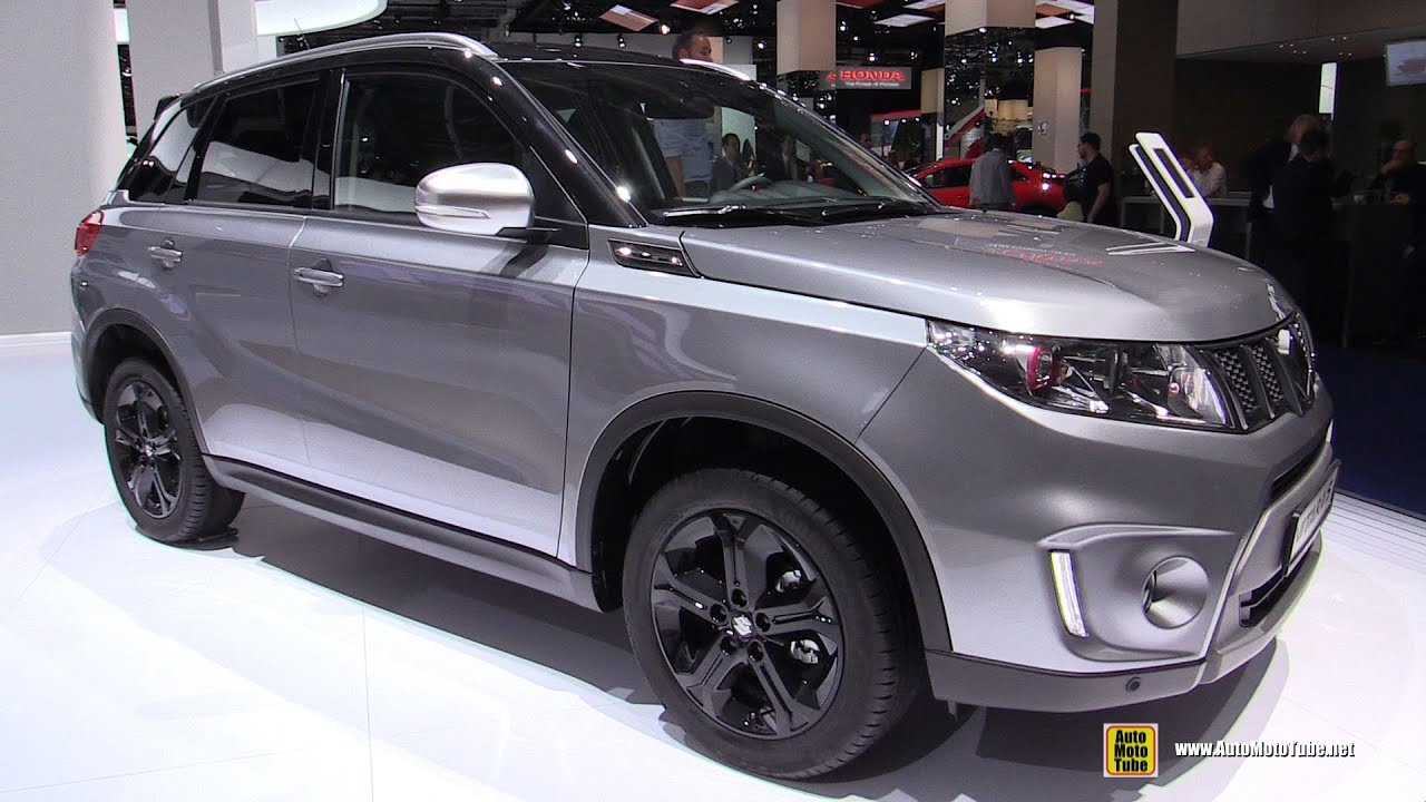 2016 suzuki vitara s all grip exterior and interior walkaround 2015 frankfurt motor show. Black Bedroom Furniture Sets. Home Design Ideas