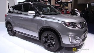 2016 Suzuki Vitara S All Grip - Exterior and Interior Walkaround - 2015 Frankfurt Motor Show(Welcome to AutoMotoTube!!! On our channel we upload every day , short, (2-5min) walkaround videos of Cars and Motorcycles. Our coverage is from Auto and ..., 2015-10-11T11:30:00.000Z)