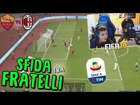 ROMA vs MILAN - PARTITA PIENA DI SCLERI E GOAL!! - Fifa 19