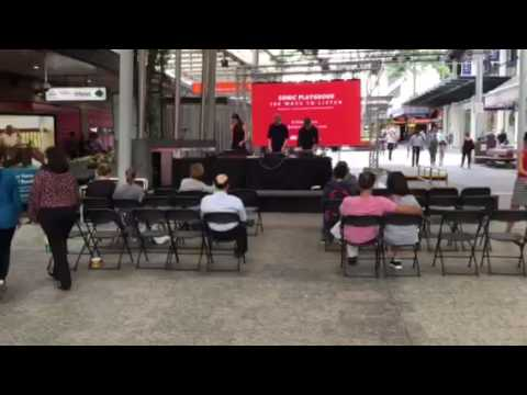 World Science Festival 2017 electronic music performance