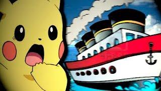 😱 EL BARCO SE TOMÓ EL PALO 🚢... 💥 Pokémon Let's Go #12