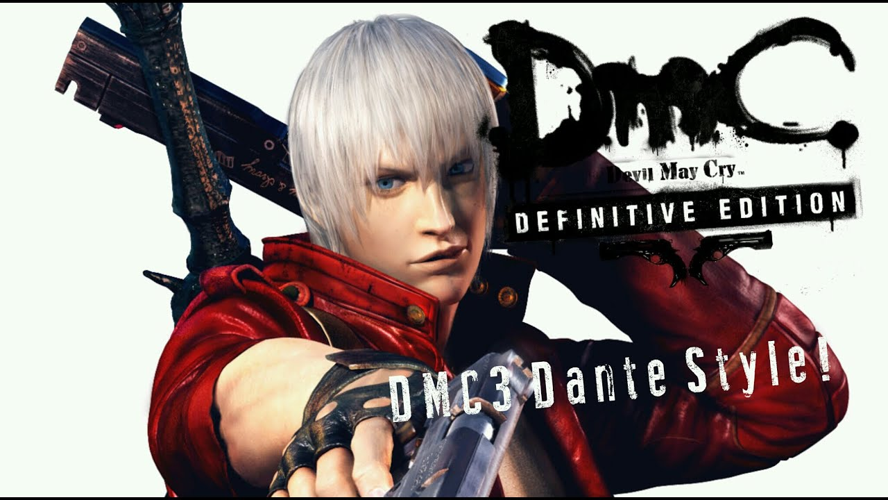 Dmc3 Dante Style   Dmc Devil May Cry U2122  Definitive Edition