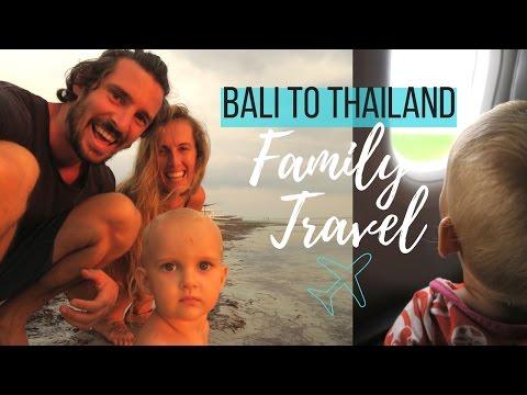 Full time traveling family vlog / From Bali to Vegan Heaven - 동영상