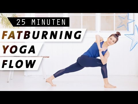 Fatburning Yoga Flow | Intensives Ganzkörperworkout  | Fett verbrennen  & Stoffwechsel anregen