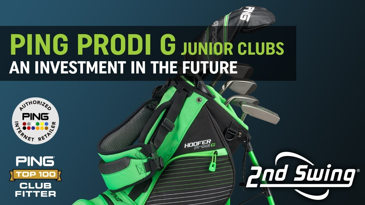 e468fd60f2e PING Prodi G Junior Clubs - An Investment In The Future. 2nd Swing Golf