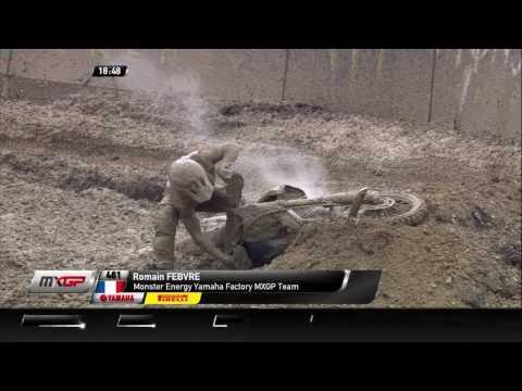 Romain Febvre Crash_MXGP of Russia Race 1
