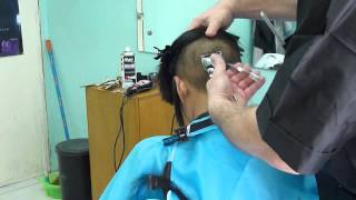 Repeat youtube video Undershaved bobcut woman