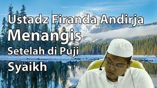 Download Video Pujian Syaikh Abdurrozzak Hafidzahullah Membuat Ustadz Firanda Menangis MP3 3GP MP4