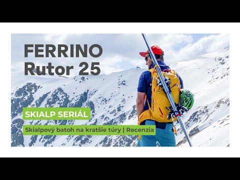 Ferrino Rutor 25   Skialp batoh   Recenzia