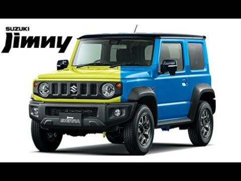 2019 suzuki jimny sierra colors youtube. Black Bedroom Furniture Sets. Home Design Ideas