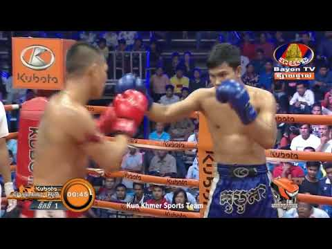 វង្ស ណយ Vs ផេតឆ័ត្រឆ័យ , Vong Noy, Cambodia Vs Thai, Khmer Boxing 15 Feb 2019