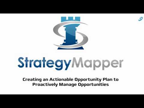 Actionable Opportunity Plans with Strategy Mapper