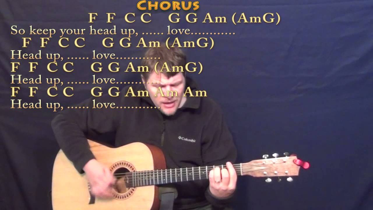 Stubborn Love Lumineers Strum Guitar Cover Lesson with Chords/Lyrics