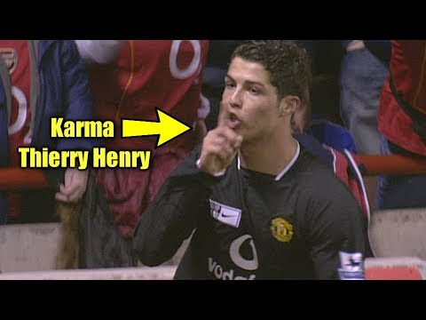 Cristiano Ronaldo Shuts Up Thierry Henry After He Provoked Ronaldo #Instant karma