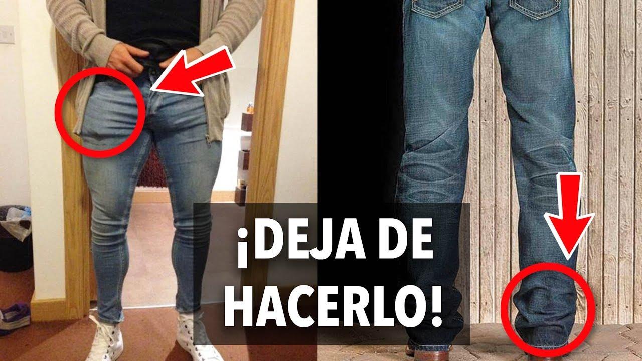 5 Errores Al Usar Jeans Nadie Te Los Dice Youtube