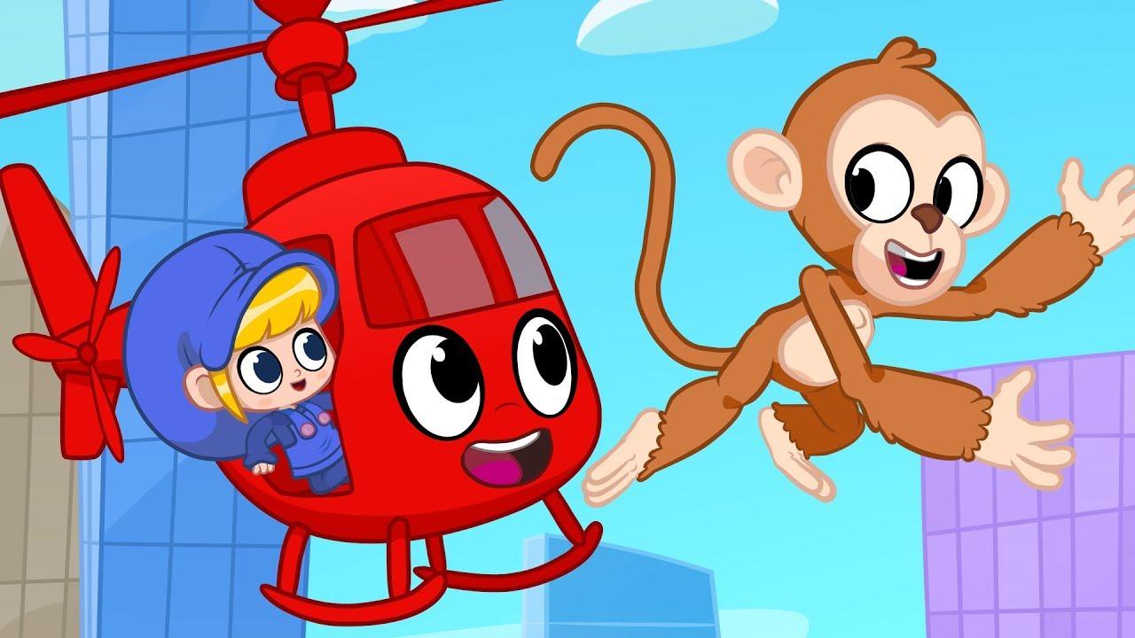 Morphle S Happy Birthday Party With Monkeys My Magic Pet