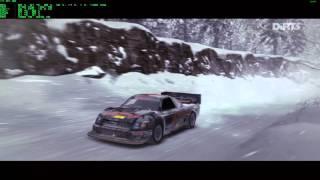Dirt 3 PC Gameplay - Trailblazer on Snow - Full HD 1080p60 DX11 Ultra Preset 8xMSAA - RTSS OSD/FPS