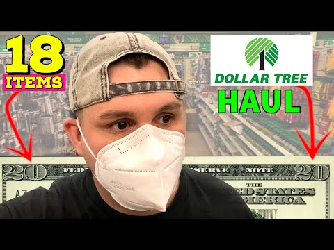 18 → $1 Items At Dollar Tree Haul // Cheap Finds And Ideas