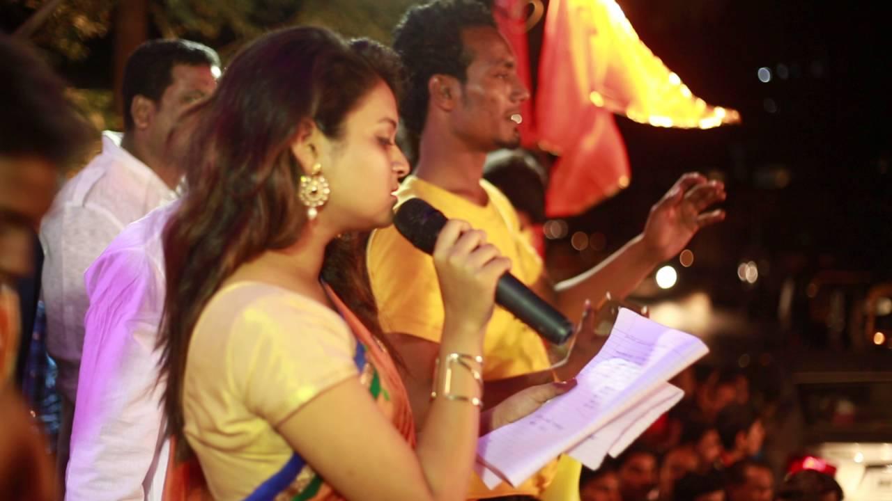 Marathi Anchoring Script- Anchor Mayuri Hosting YUVA SENA Dahi Handi 2016