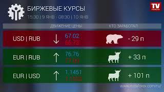 InstaForex tv news: Кто заработал на Форекс 10.01.2019 9:30