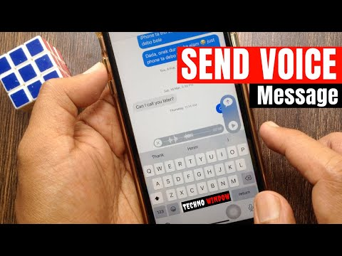 How to Send a Voice Recording From Text Message on iPhone