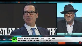 'Hell is empty' because the rich are in Davos – Galloway