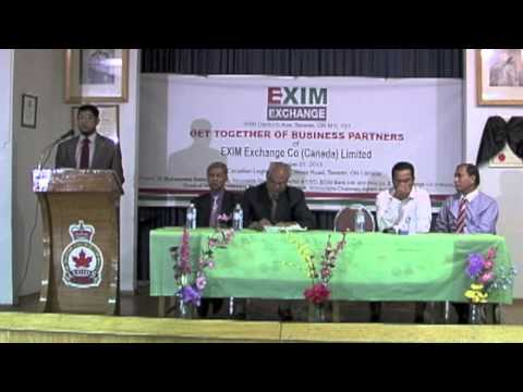 EXIM EXCHANGE CANADA GET TOGETHER OF BUSINESS PARTNERS 2013