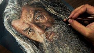 Desenhando o Gandalf | Senhor dos Anéis