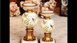 Creative Ceramic Candle Holders Ideas Picture Set Of Ceramic Art Model - Decor Options & Ideas