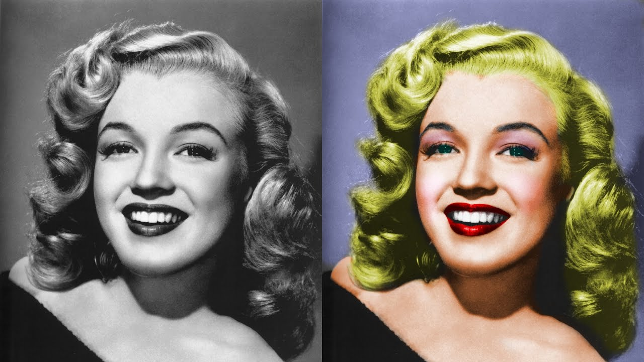 How to colorize a black and white photo using gimp photoshop alternative 22 youtube