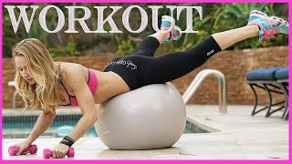 Bunny Slope Workout #10 - Swiss Ball Exercises