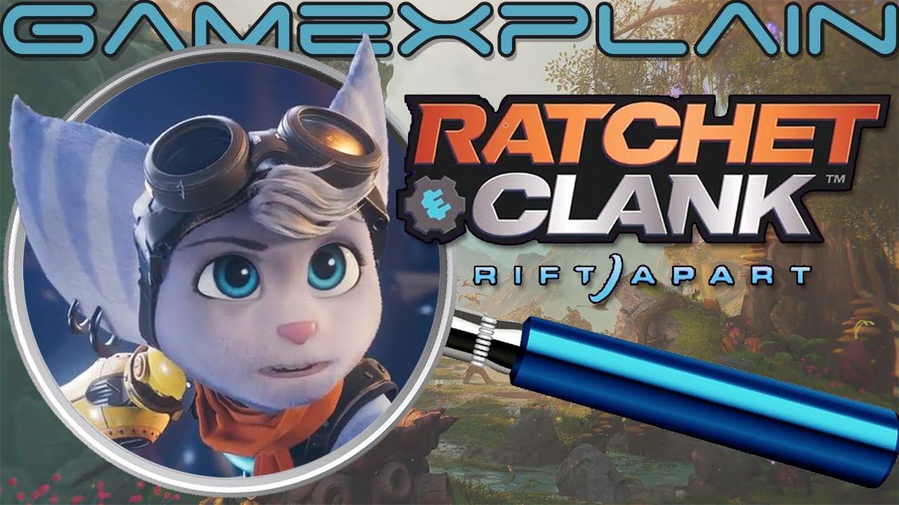 Ratchet Clank Rift Apart Reveal Trailer Analysis Secrets