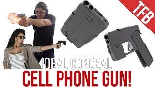"""The Cell Phone Gun"": Ideal Conceal .380 Derringer Pistol"