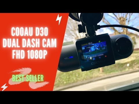 COOAU D30 Dual Dash Cam Review | COOAU 1080P FHD Dash Cam Install & Manual | Best Dash Cam 2021