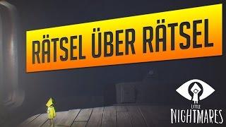 LITTLE NIGHTMARES #02 - Rätsel über Rätsel | (Let's Play Deutsch Gameplay German) #iAwake zockt