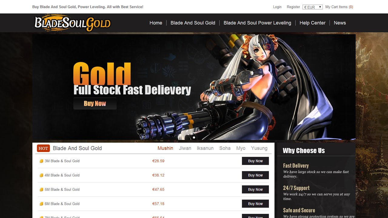 How to buy gold now - How To Buy Blade And Soul Gold In Bladesoulgold Net