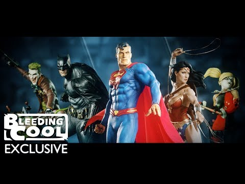 Sideshow DC Premium Format Line Making of and Unveil - Bleeding Cool EXCLUSIVE Clip