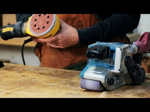 How to Use a Sander | Woodworking from YouTube · Duration:  4 minutes 7 seconds
