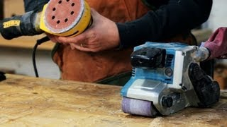 How To Use A Sander | Woodworking