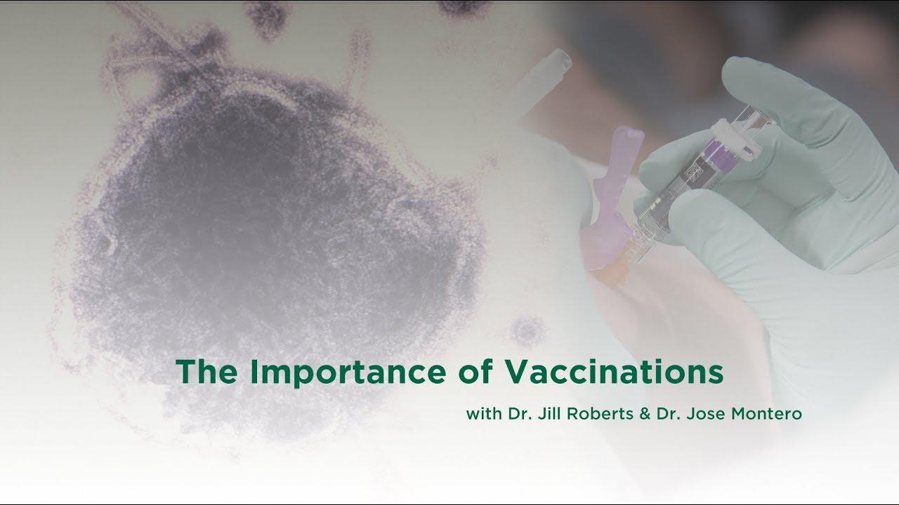 the importance of vaccines The importance of vaccines matter of facts загрузка vaccination debate: parents, doctors discuss the pros, cons of immunizations - продолжительность: 3:06 njtv news 18 454 просмотра.