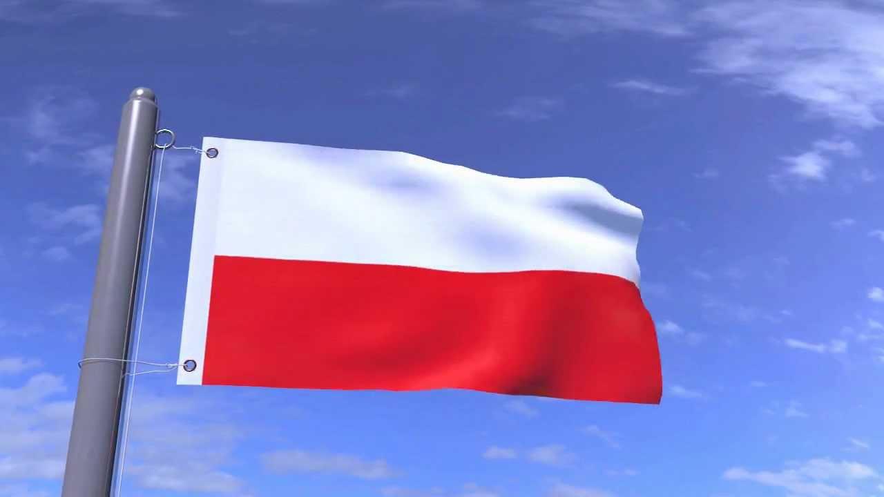 polish flag blender animation hd 720p youtube