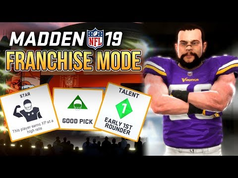 Madden 19 Franchise | FULL Offseason Walkthrough (NFL Draft/Free Agency)