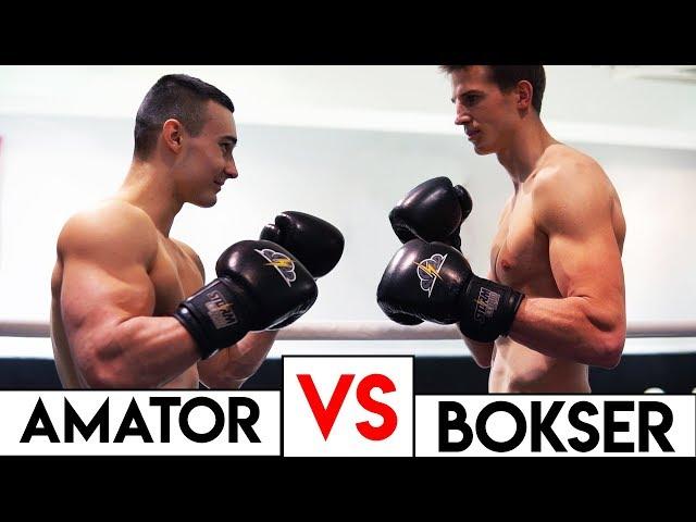 PIERWSZY RAZ NA RINGU *amator vs bokser*
