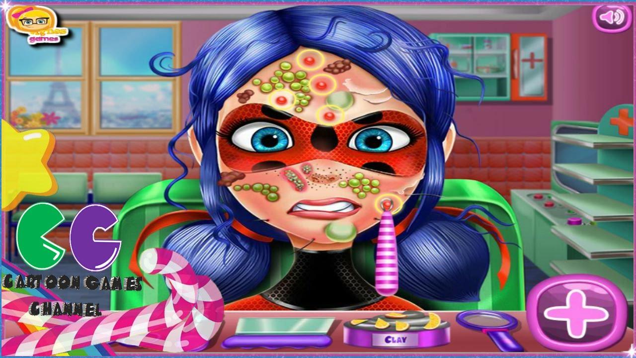 Mariquita Ladybug Medico De La Piel Juegos Medico De Atencion Para