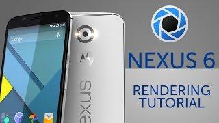 Nexus 6 - Keyshot rendering tutorial
