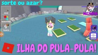 Roblox - ILHA DO PULA-PULA!!! 🏝️ (Cursed Islands) | Menina MineBlox