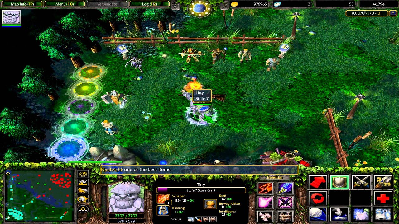 Warcraft 3 Dota Tiny Items YouTube