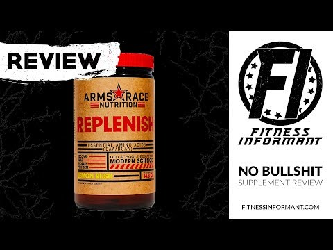 Arms Race Nutrition Replenish REVIEW: Full Spectrum Amino Acid Formula Featuring 4g EAAs