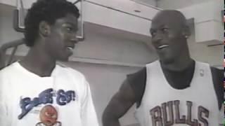 Michael Finley vs Michael Jordan