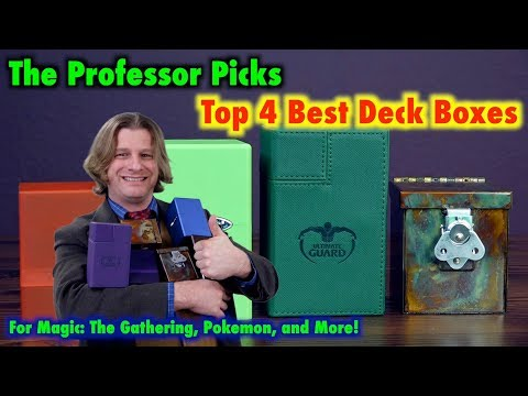 Top 4 Best Deck Boxes For Magic: The Gathering, Pokemon, and Standard Sized Trading Card Games